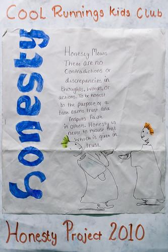 13 - December - 2010 -- Honesty