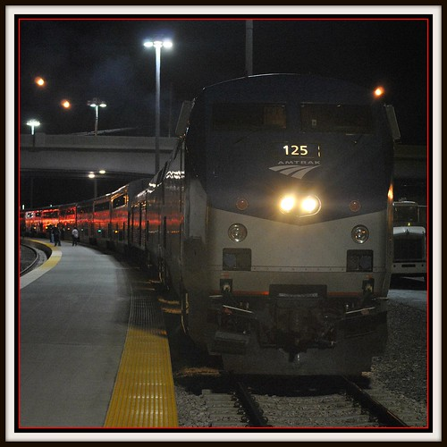 California Zephyr at Salt Lake City by Loco Steve
