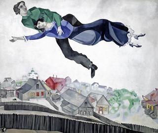 Tretyakov Gallery - CHAGAL, MARK - Over the City (1914)
