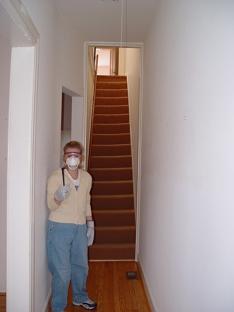Ask Old Town Home How Should We Handle Our Old Stairs Old | Stripping Stairs Back To Wood | Paint Remover | Stair Risers | Stair Treads | Steps | Hardwood