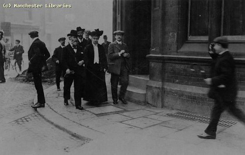 Keir Hardie (with beard), 1910