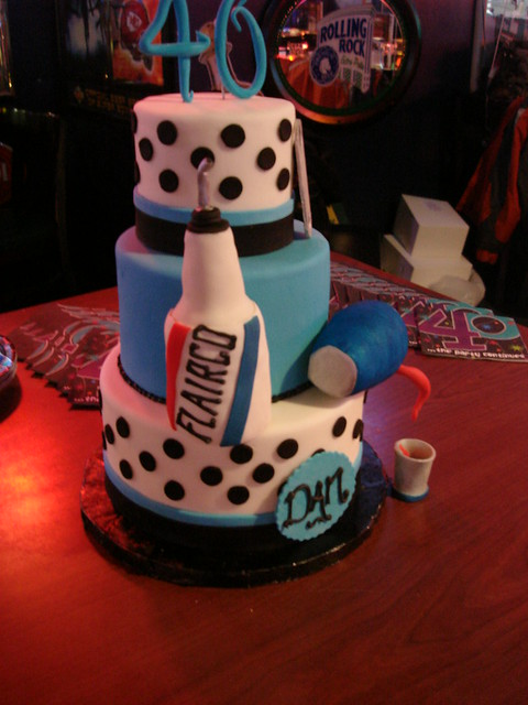 Flair Bartender Birthday Cake Flickr Photo Sharing