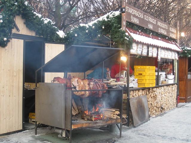 Roasting Ham on Staroměstské náměstí