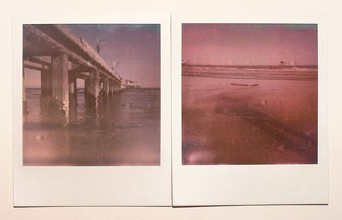 Polaroid at the Beach