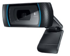 Logitech HD Pro Webcam C910 with 1080p Video