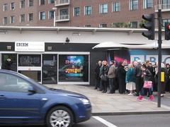 BBC audience queue