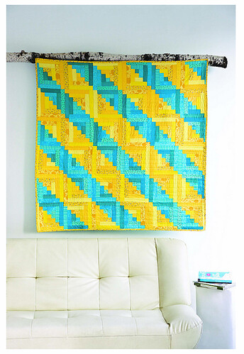 Bright Furrows Quilt
