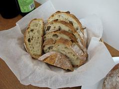 Amaranth Sourdough - slices