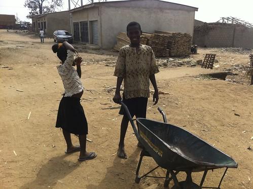 Kids Playing In Deidei Lumberyards, Abuja Nigeria. by Jujufilms