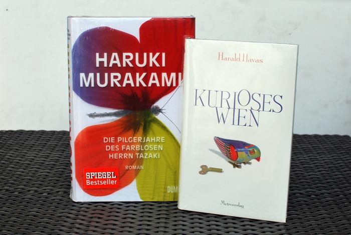 Blogger schenken Lesefreude Haruki Murakami Die Pilgerjahre des farblosen Herrn Tazaki | Harald Havas Kurioses Wien