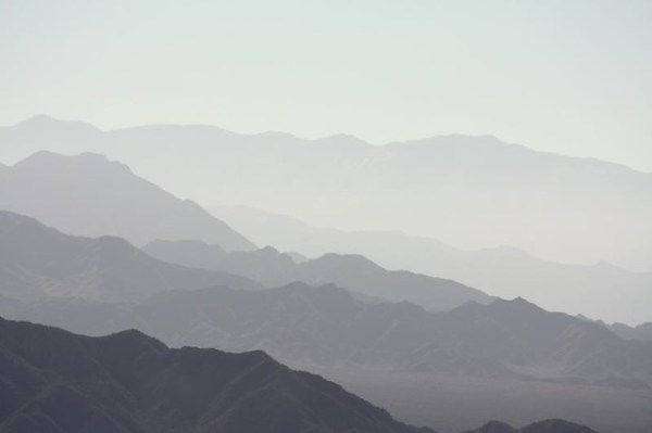 Las montañas alrededor de Mendoza, por Jorge Gobbi