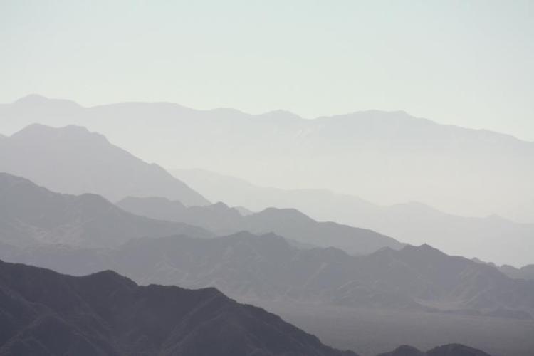 Las montañas alrededor de Mendoza