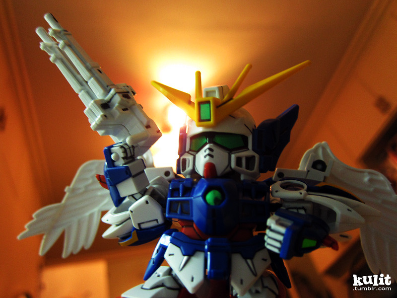 SD W-Gundam Zero Custom
