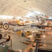 Steven F. Udvar-Hazy Center: View of south hangar, including B-29 Superfortress