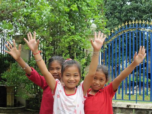 Dacci il cinque... in Cambogia!