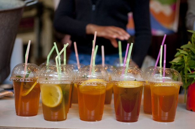 Ice Tea at Borough Market