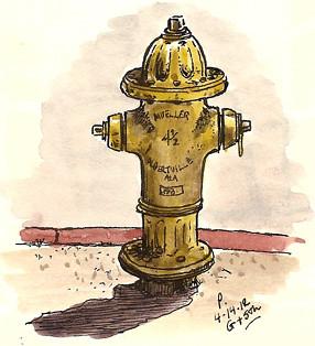 G & 5th hydrant