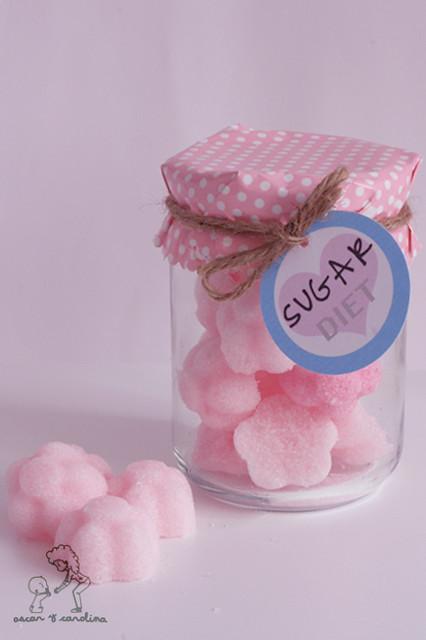 Bote para azucarillos caseros