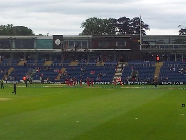 T20 Glamorgan  v Warwickshire at Swalec stadium