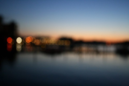 waterfront bokeh