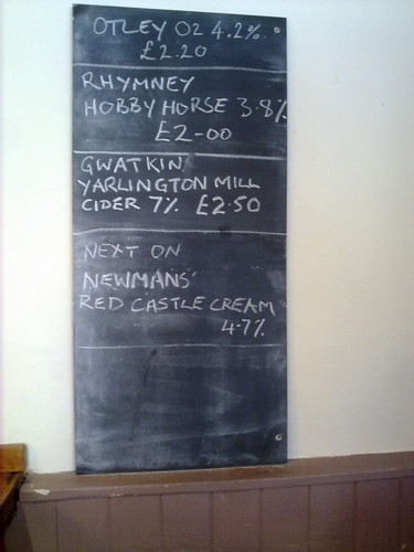 Real ales in the Mill Tavern in Cwmbran. Great prices