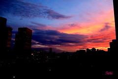 Sun set. After the storm past