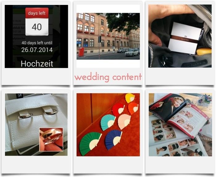 Hochzeit   Standesamt Favoriten   Eheringe Meister   Fingerprint   Fächer DIY   Brautstyling