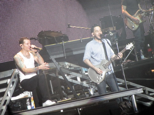 Linkin Park live at Sonisphere, Imola