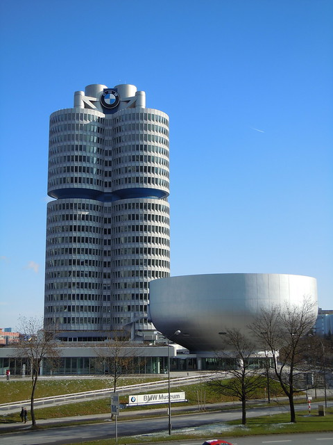 BMW HQ and Museum