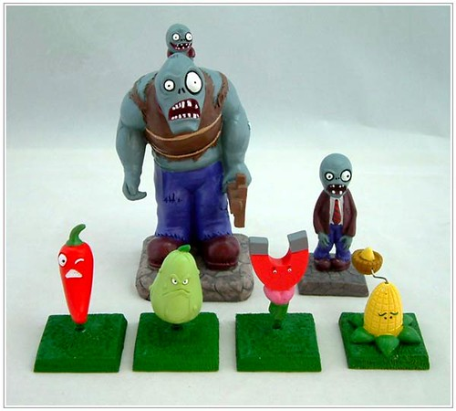 Plants vs. Zombies Are Now Adorable Misfit Toys