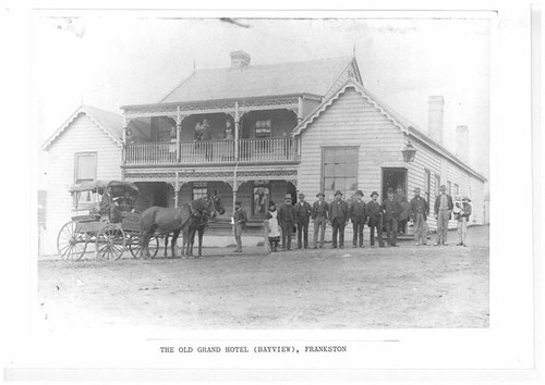 The old Grand Hotel (Bayview), Frankston