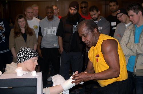 Emanuel Steward's boxing clinic