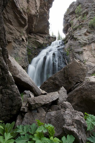 Waterfall in Sandia Mountains