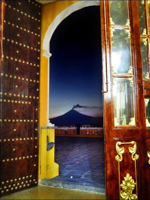 Popocatépetl por Blue Maury