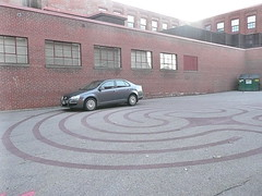 Labyrinth parking