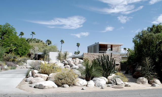 Richard Neutra's Kaufmann House,  Palm Springs CA