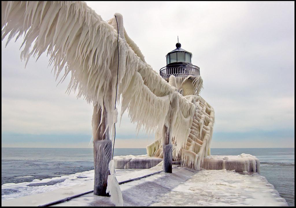 Ice on St. Joe Light