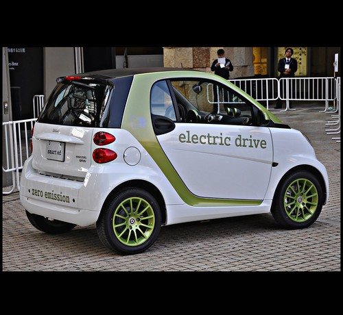 [ SMART : electronic drive ] @ Mercedes-Benz TecDays, Roppongi Hills Arena, Tokyo, Japan