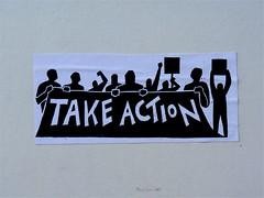 Take action! by Akbar Sim