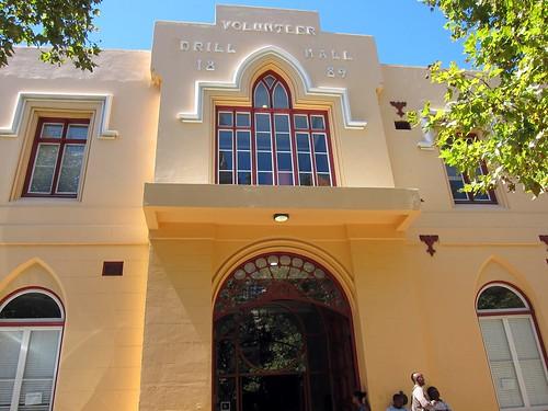 1724 Cape Town public library exterior