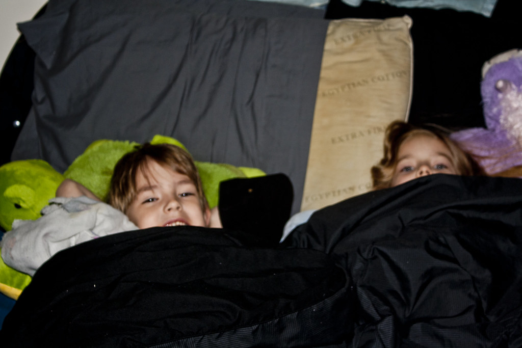 032/365 {2011} - Cuddles in Bed