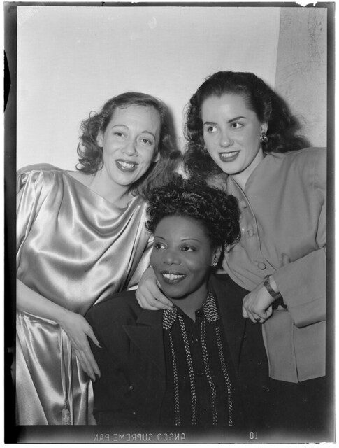 [Portrait of Imogene Coca, Mary Lou Williams, and Ann Hathaway, between 1938 and 1948] (LOC)