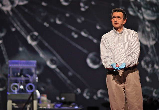 Printing a Human Kidney on Stage