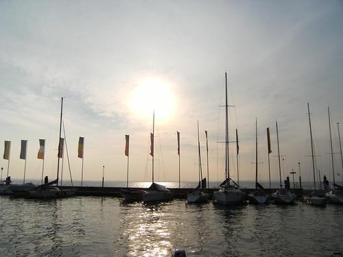harbor of bardolino 27 jan 2011