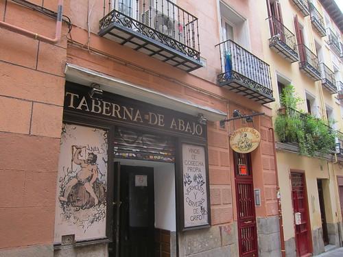 Taberna de Abajo, Conde Duque. Madrid