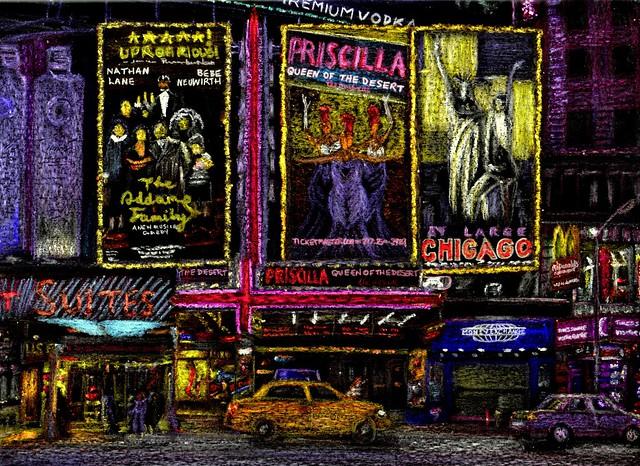 Stars on Broadway