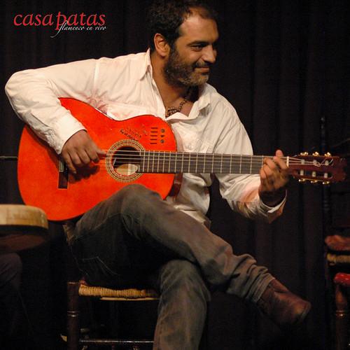 Paquete presentará su nuevo disco sobre el tablao de Casa Patas. Foto: Martín Guerrero