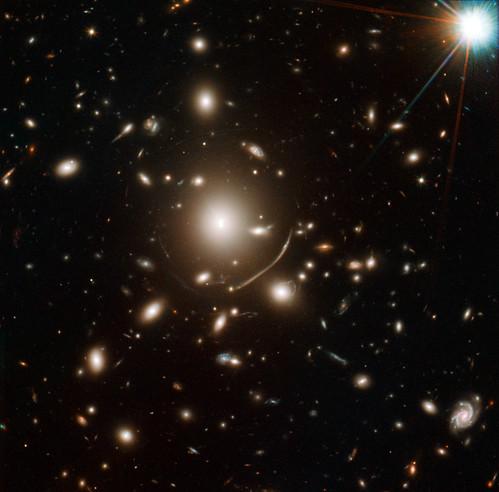 NASA Telescopes Help Discover Surprisingly Young Galaxy