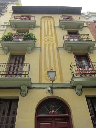 Plaza Guardias de Corps, Conde Duque. Madrid