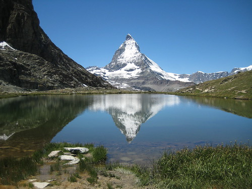 The Matterhorn in the Riffelsee